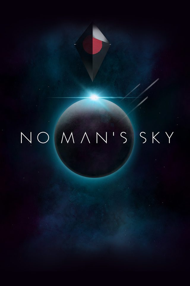No Mans Sky Art Space Dark Illust Game Android wallpaper