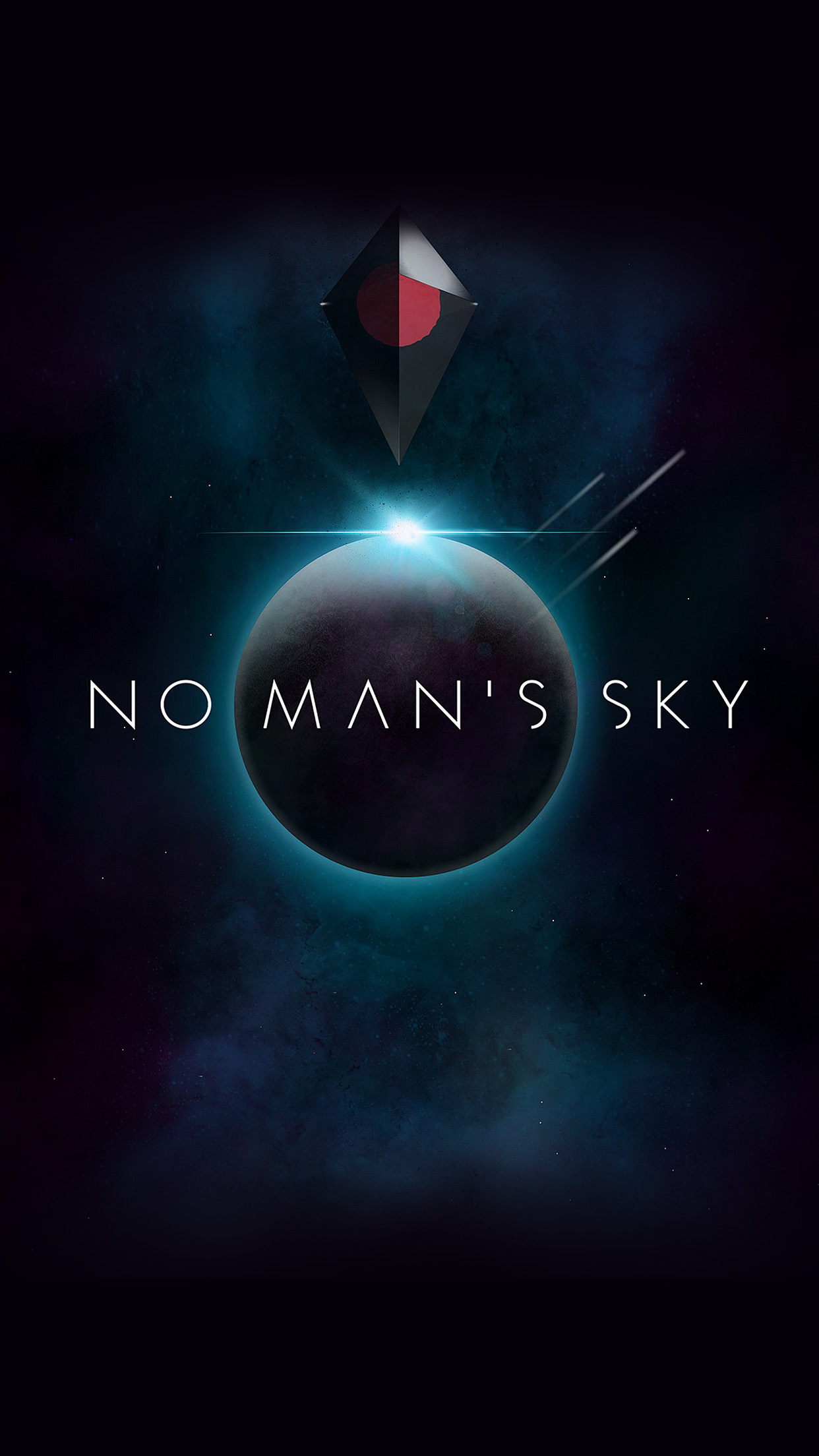No Mans Sky Art Space Dark Illust Game Android Wallpaper Android