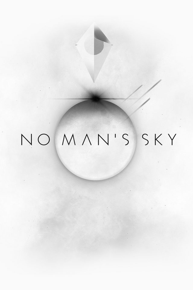 No Mans Sky Art Space White Illust Game Android wallpaper