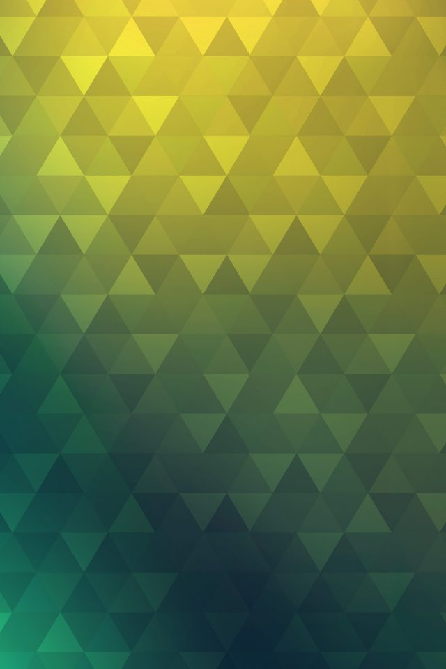 Poly Yellow Blue Abstract Pattern Android wallpaper