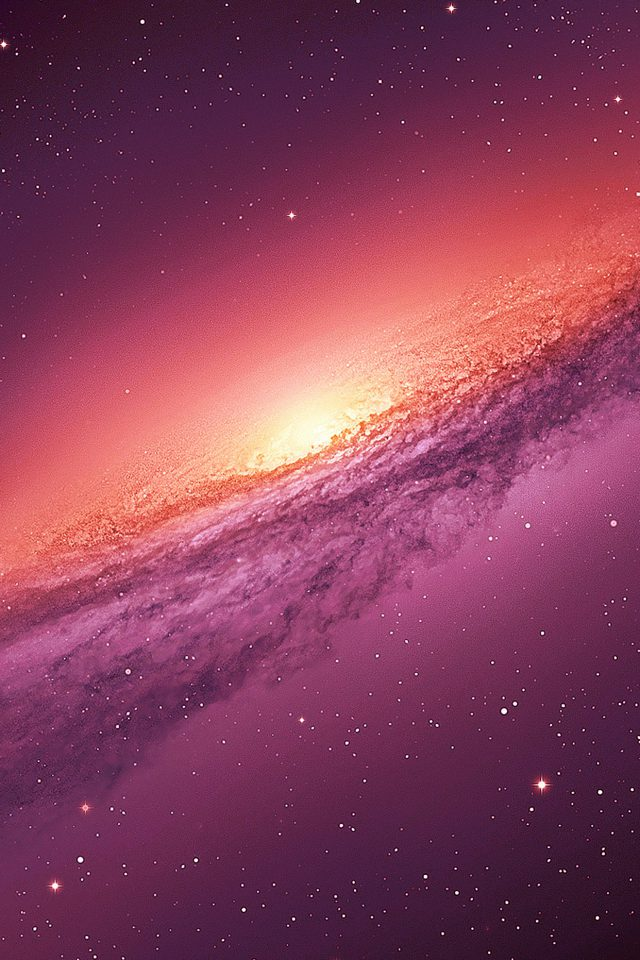 Purple Galaxy Space Nature Android wallpaper
