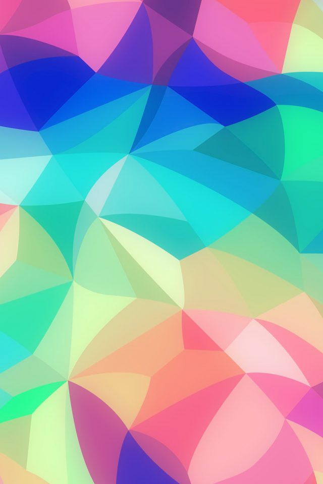 Rainbow Abstract Colors Pastel Soft Pattern Android wallpaper