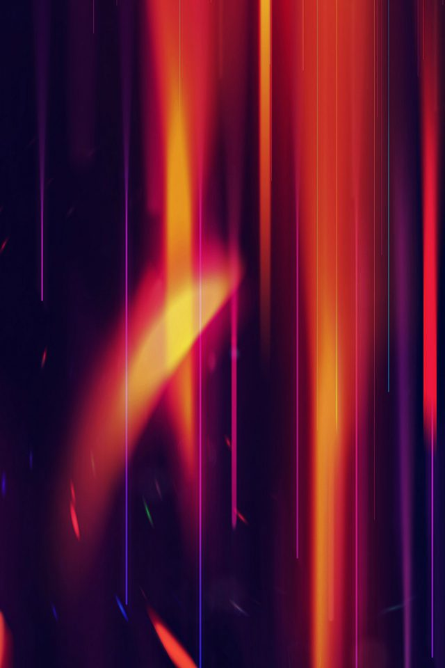 Rainbow Art Abstract Cool Pattern Android wallpaper