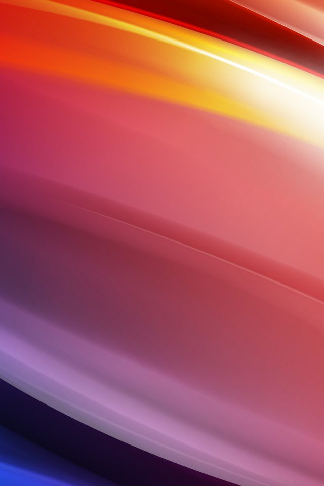 Rainbow Art Curve Abstract Pattern Android wallpaper