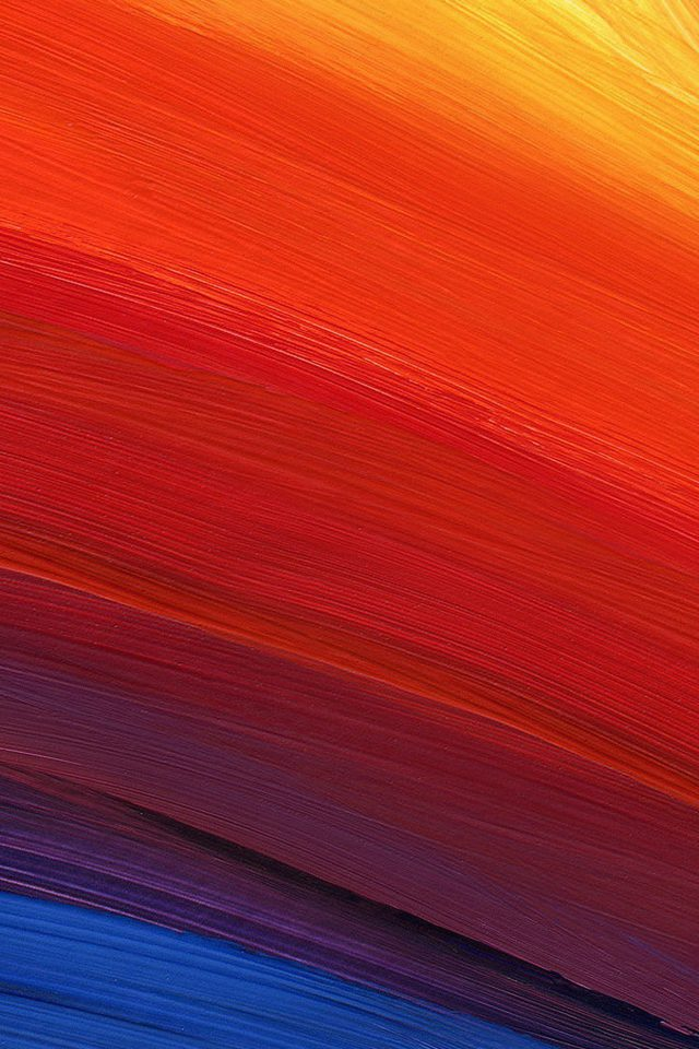 Rainbow Swirl Line Abstract Pattern Android wallpaper