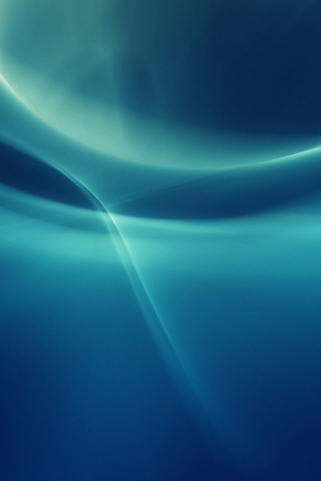 Ribbon Abstract Art Blue Pattern Android wallpaper