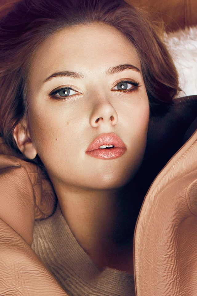 Scarlett Johansson Fall Celebrity Actress Android wallpaper