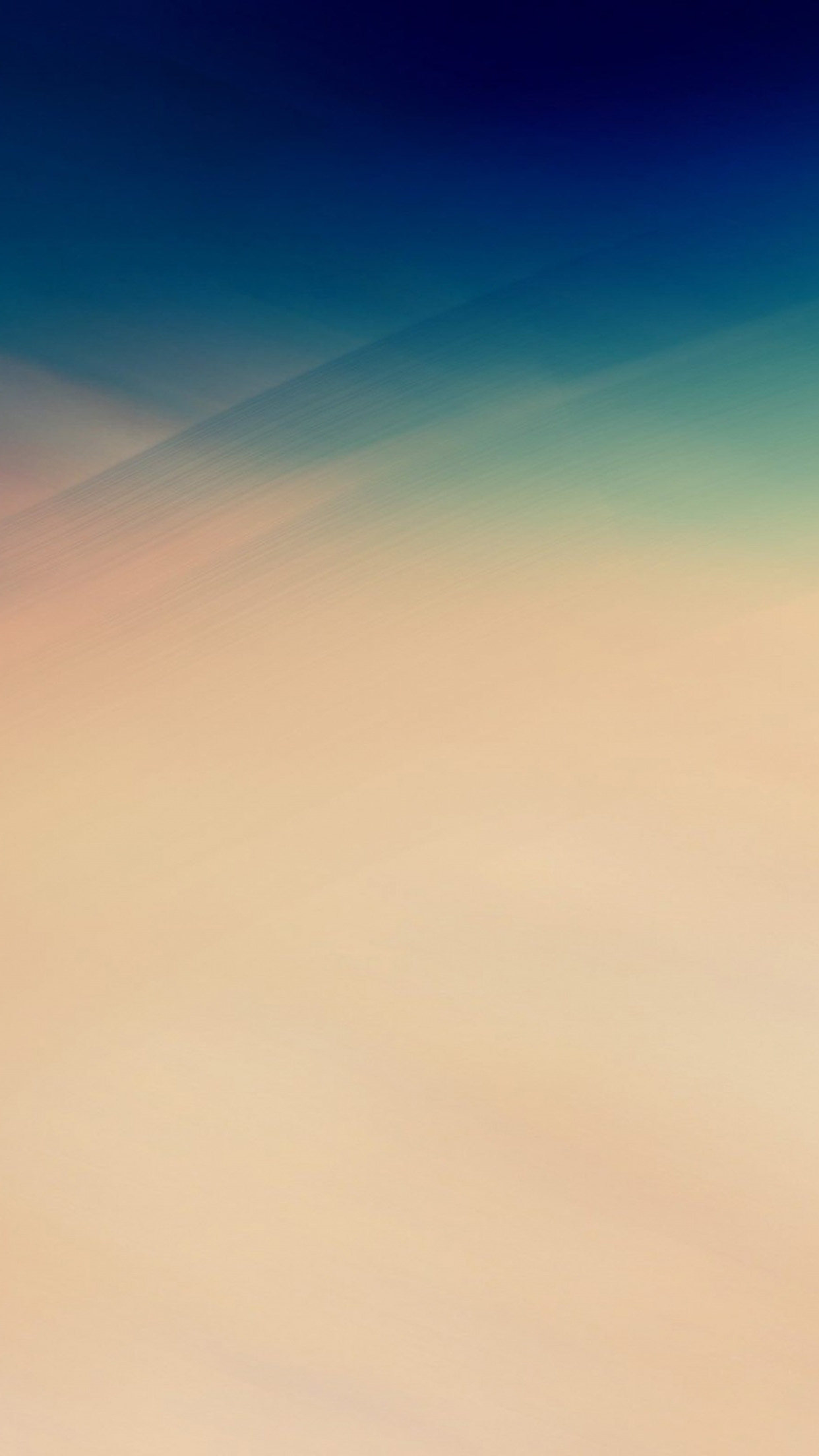 Soft Gradation Abstract Blue Yellow Pattern Android wallpaper