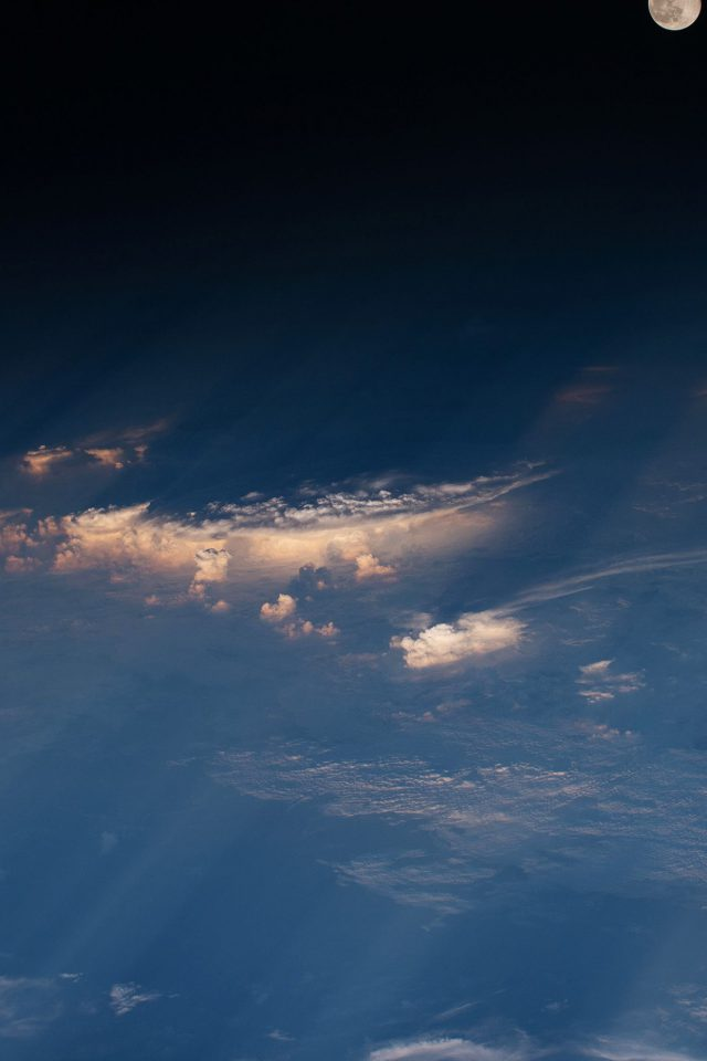 Space Earth Cloud Nature Android wallpaper