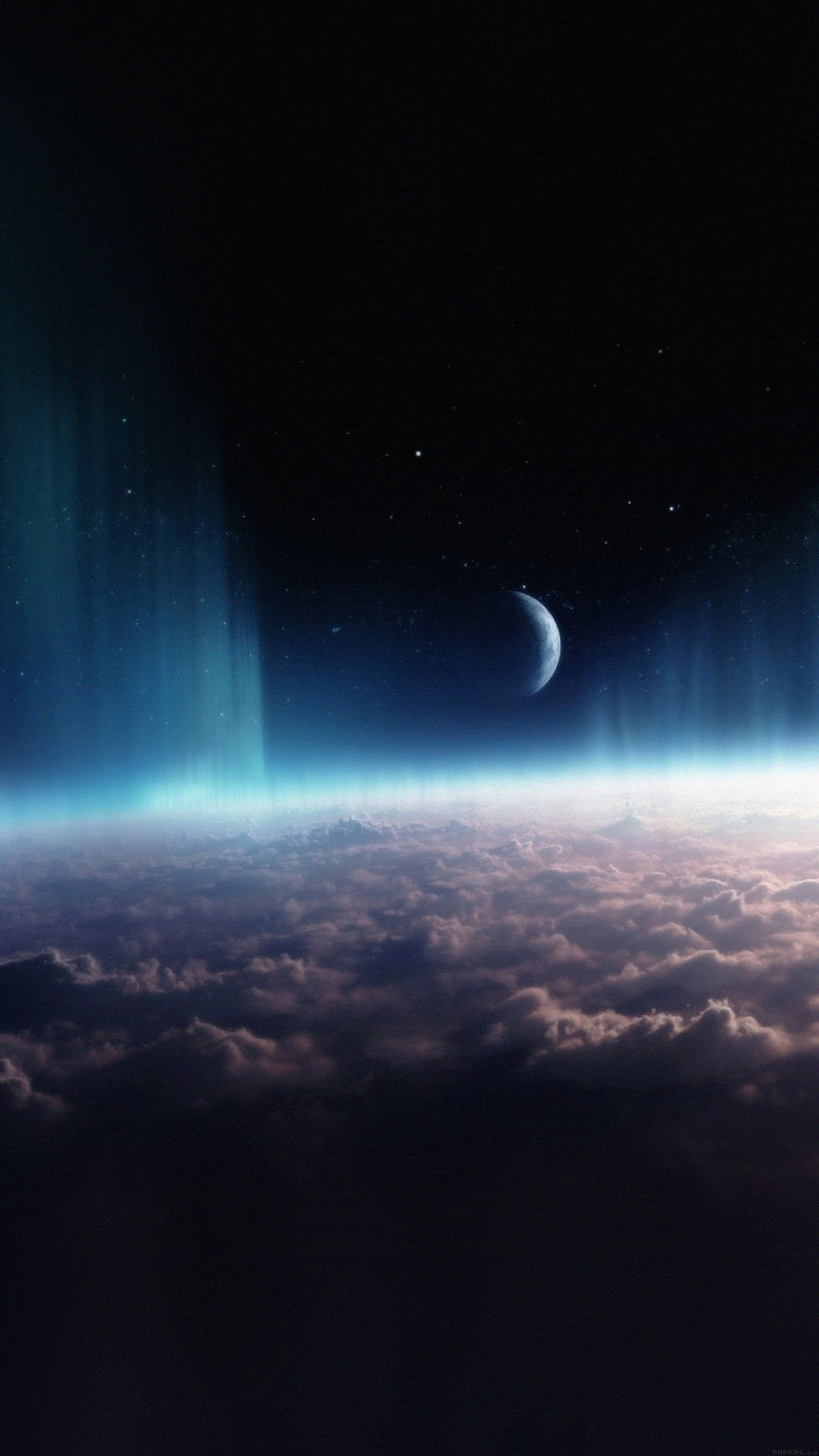 Space Interstellar Sky Cloud Nature Android wallpaper
