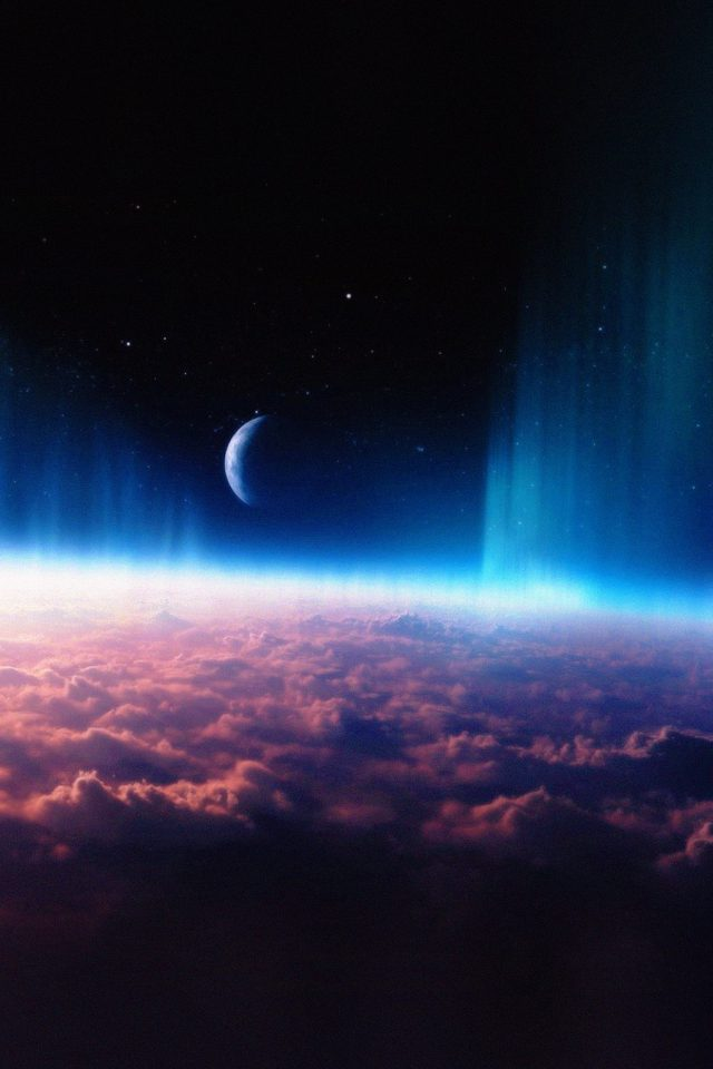 Space Interstellar Sky Free Cloud Nature Android wallpaper