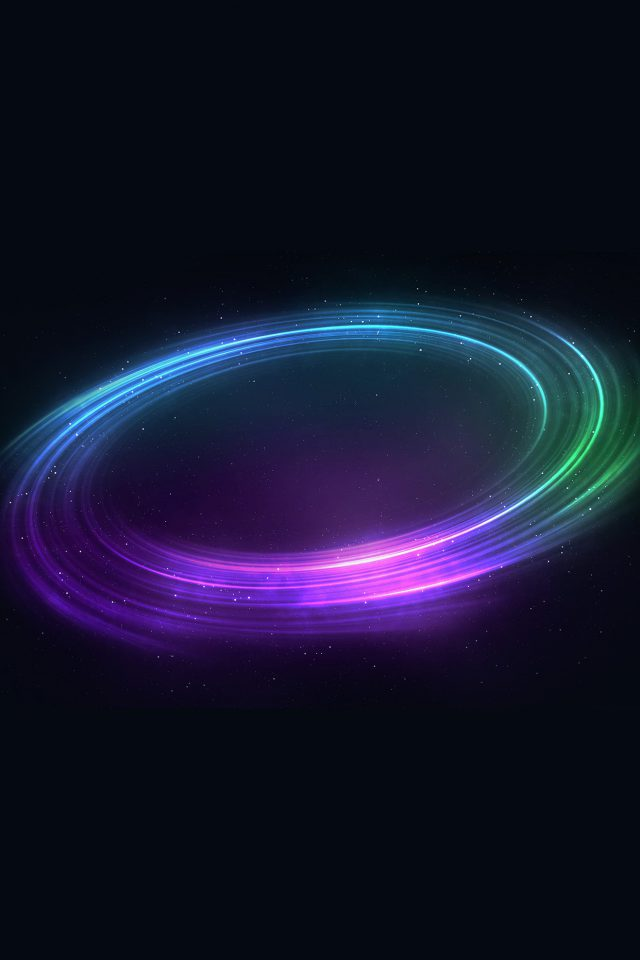Space Magic Circle Color Art Pattern Android wallpaper