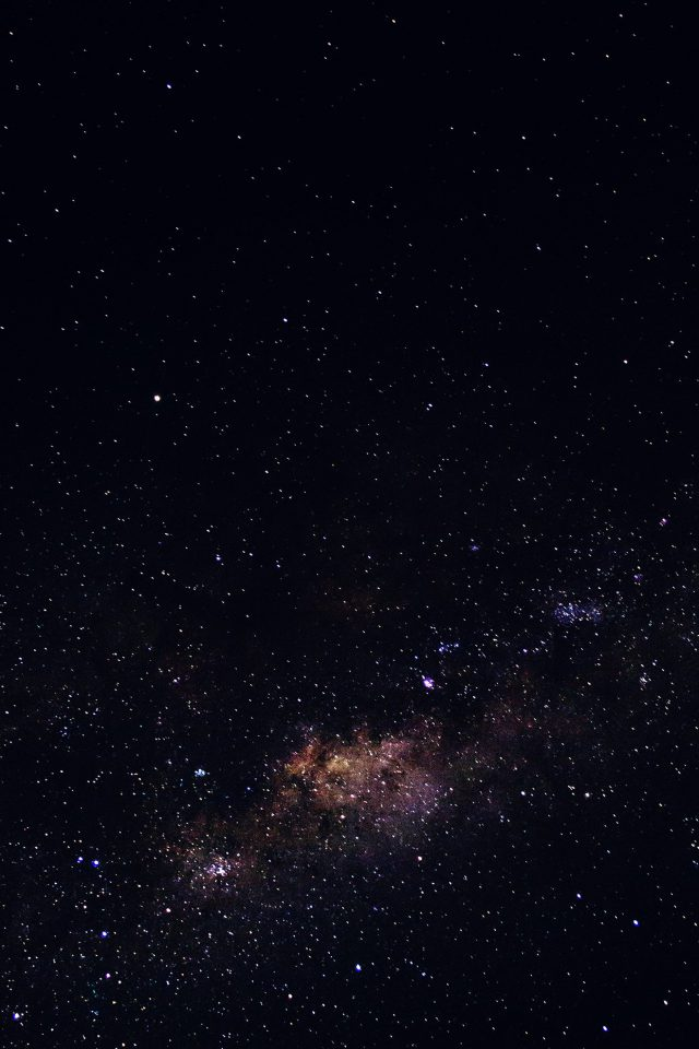 Space Night Sky Star Dark Android wallpaper