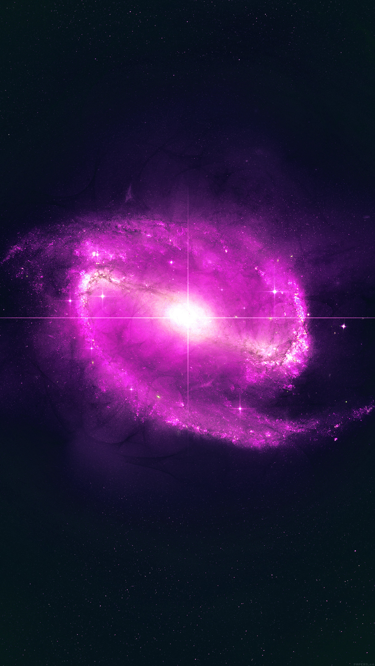 space pink bingbang explosion star nature dark android wallpaper