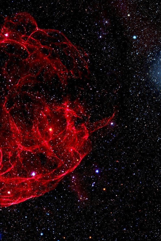 Space Red Bigbang Star Art Nature Android wallpaper