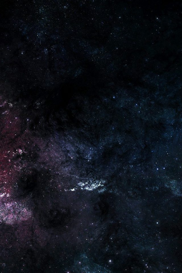 Space Star Dark Night Sky Pattern Android wallpaper