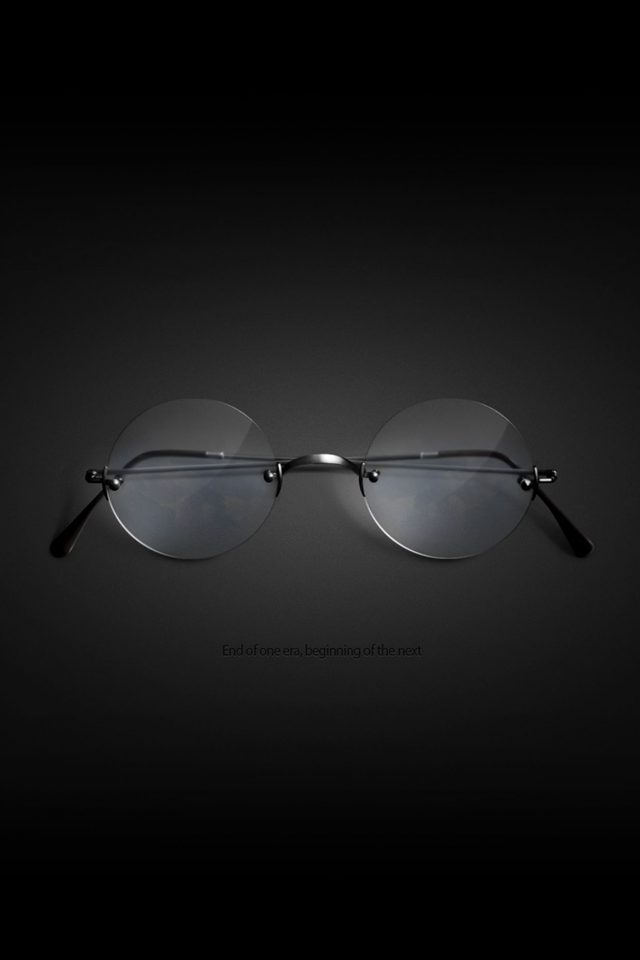Steve Jobs Glasses New Era Apple Android wallpaper