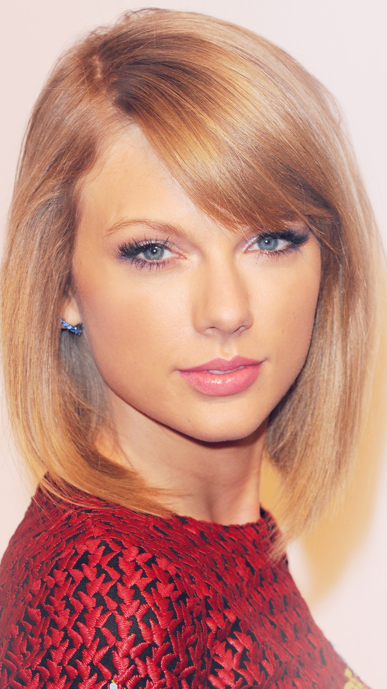 Taylor Swift Face Cute Beautiful Singer Android wallpaper