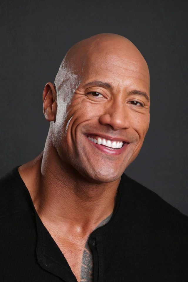 The Rock Dwayne Johnson Action Actor Celebrity Android wallpaper