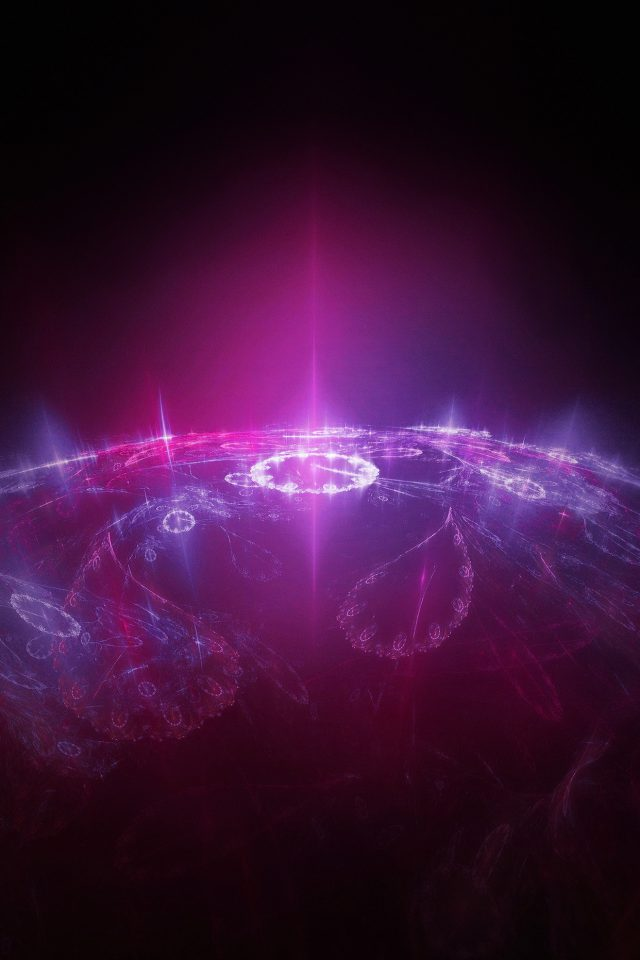 Time Travel Red Dark Space Pattern Android wallpaper
