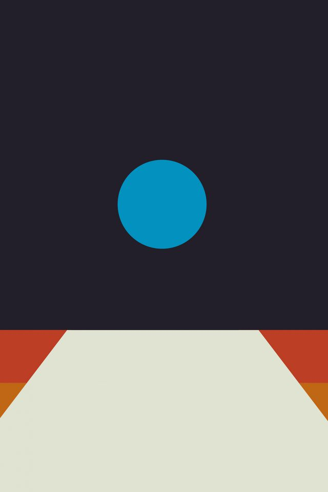 Tycho Art Blue Illustration Art Abstract Minimal Android wallpaper