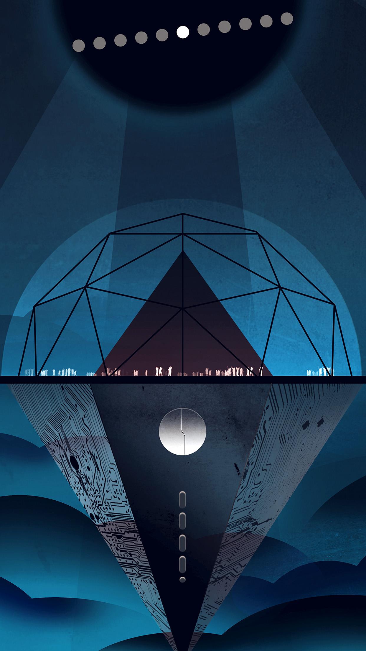 venus dark blue art illustration nasa space android