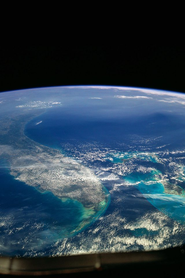 Wallpaper Alien View Of Earth Space Android wallpaper