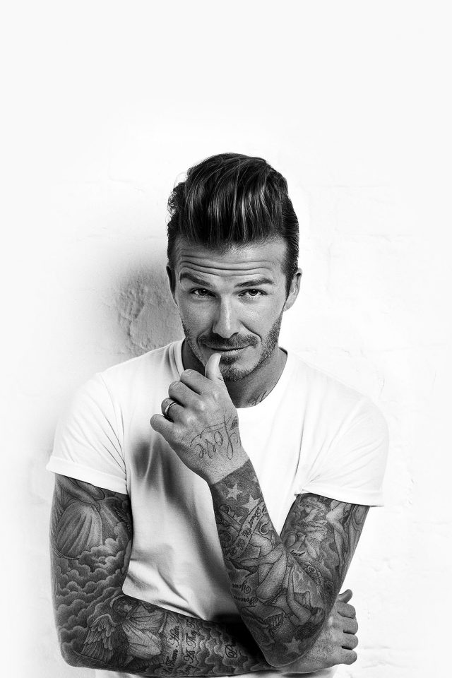 Wallpaper David Beckham Sports Face Android wallpaper