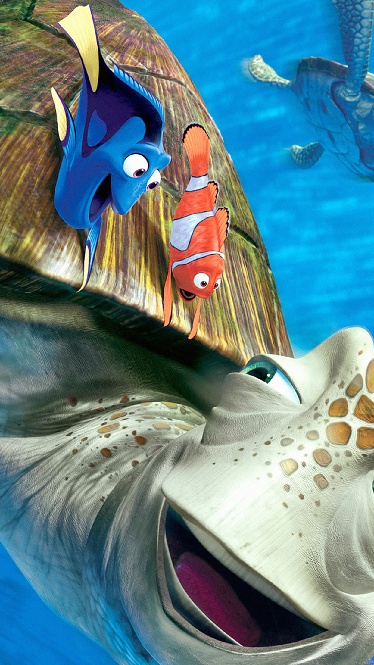 Wallpaper Finding Nemo Disney Pixar Illust Sea Animals Android