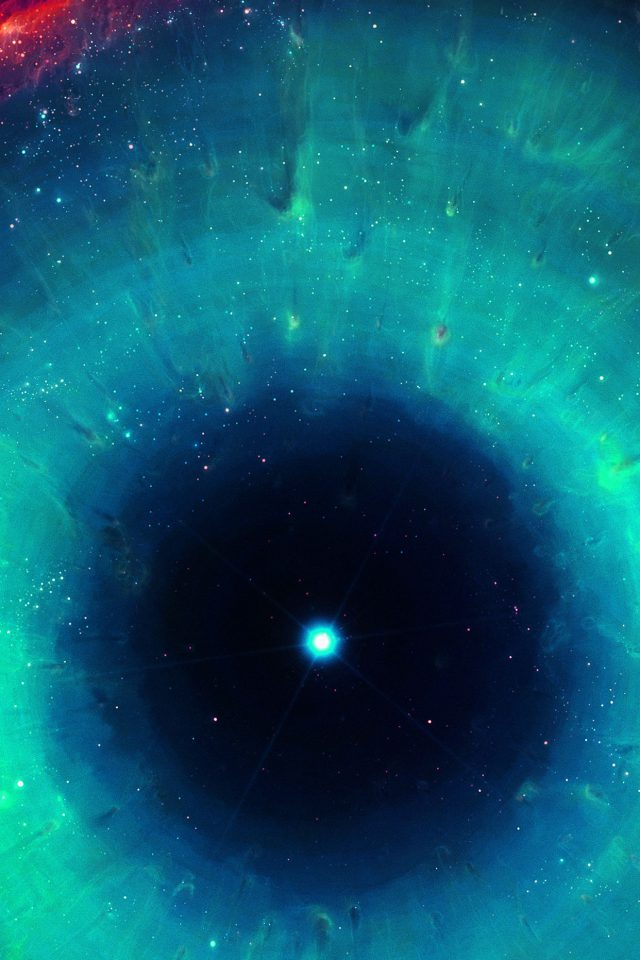 Wallpaper Galaxy Eye Center Gren Space Stars Android wallpaper