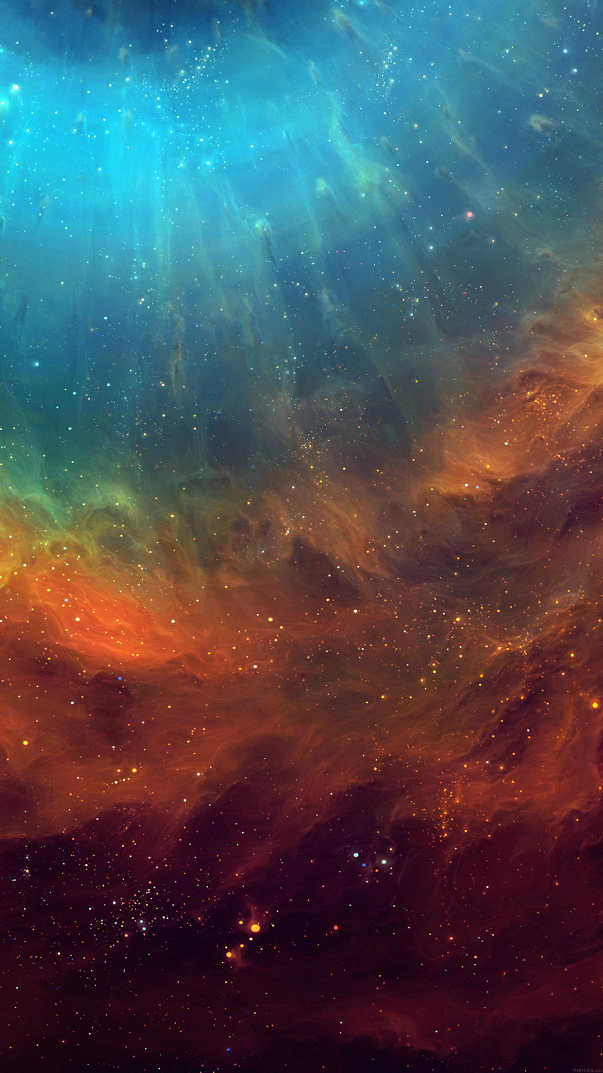 Wallpaper Galaxy Eye Space Stars Color Android Wallpaper