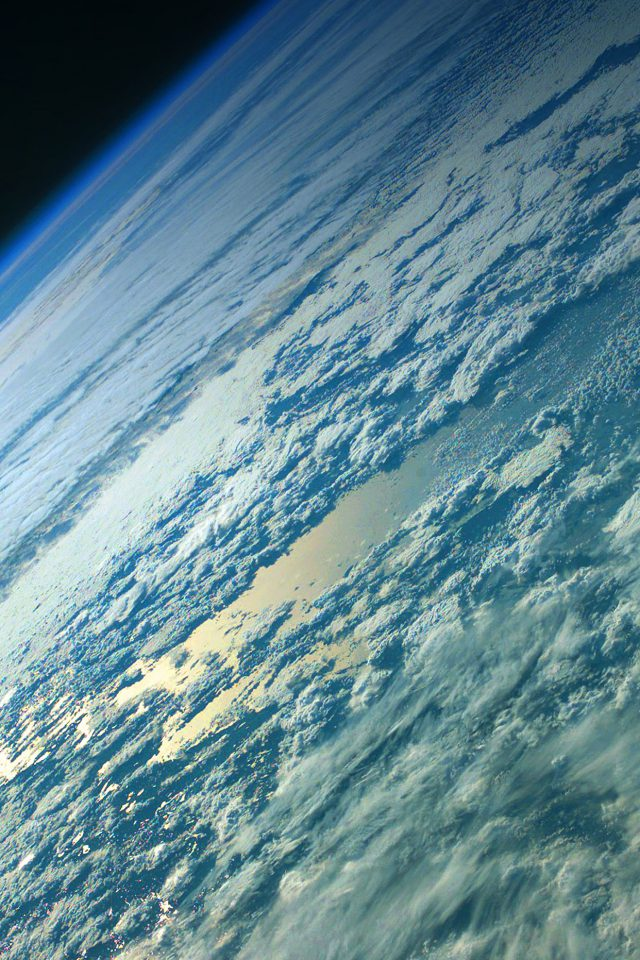 Wallpaper Green Earth Space Android wallpaper
