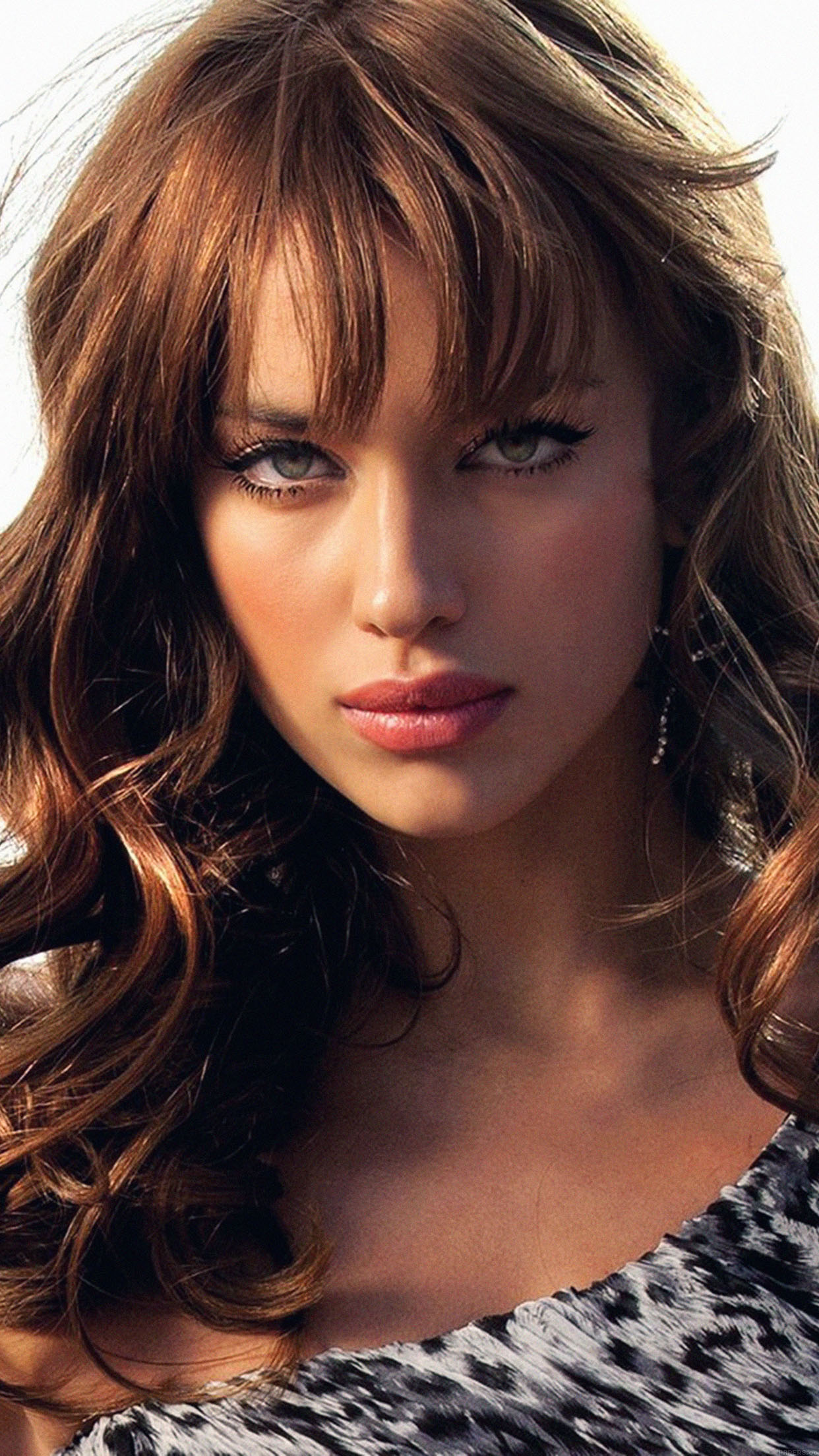 wallpaper irina shayk girl face sexy android wallpaper android hd wallpapers