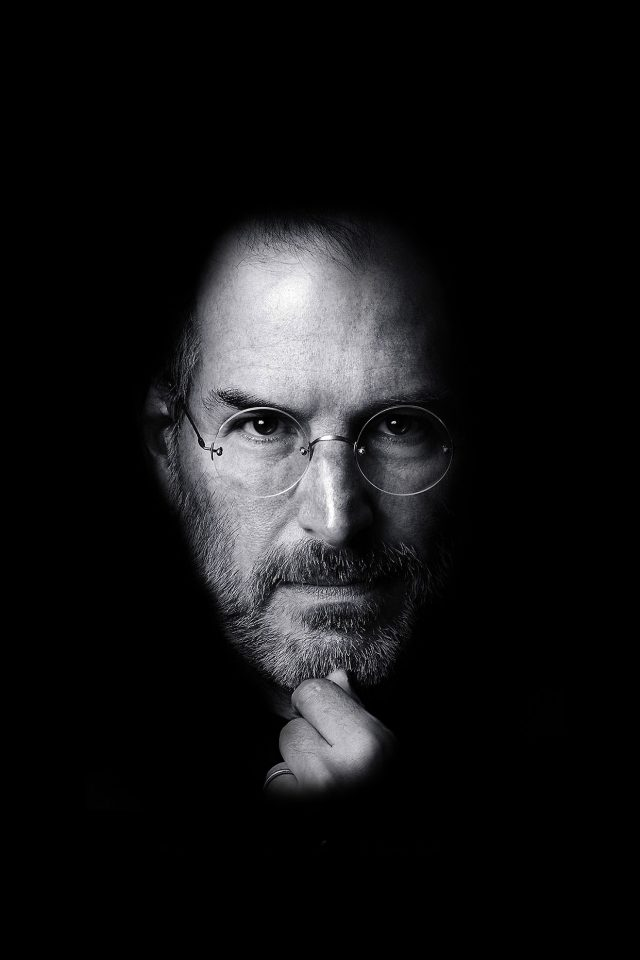 Wallpaper Steve Jobs Face Apple Android wallpaper