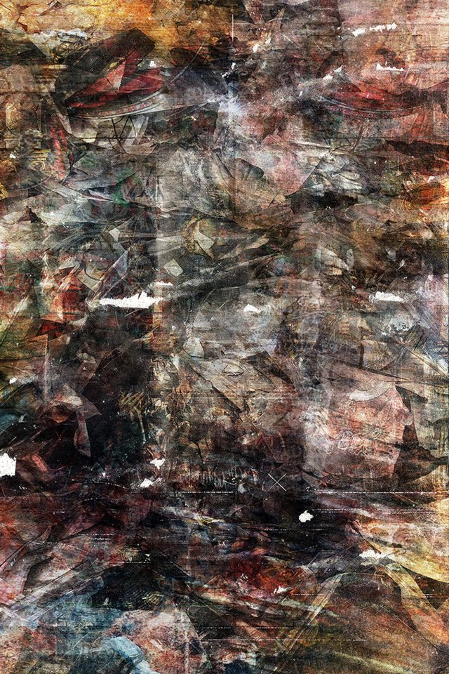 Wonder Lust Art Illust Grunge Abstract Android wallpaper