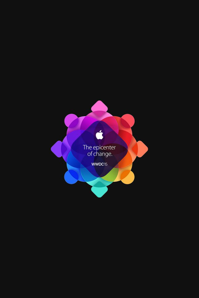 Wwdc 2015 Apple Art Pattern Dark Android wallpaper