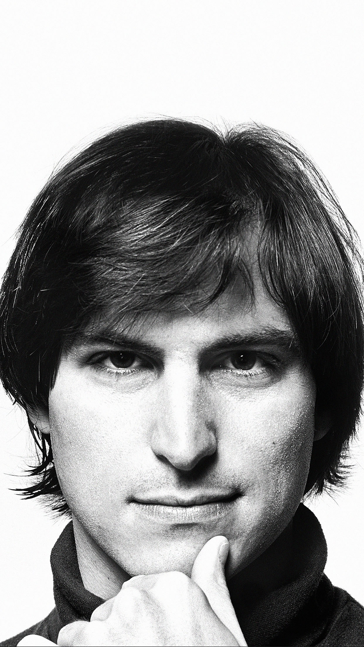Young Steve Jobs Face Android Wallpaper Android Hd Wallpapers